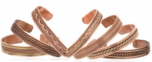 Wholesale Copper Cuffs