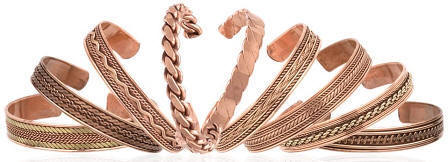 Pure Copper Cuffs Bangle Bracelets