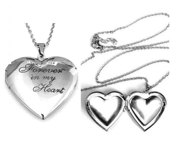 Forever in my Heart Locket Necklaces