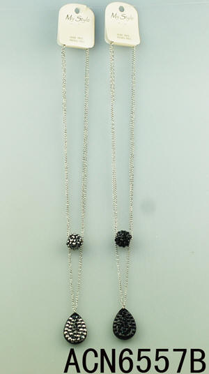 Black and White Fashion Necklaces