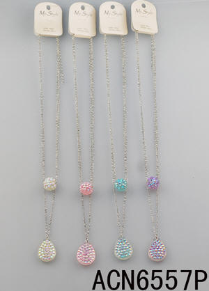 Assorted Color Fashion Necklaces