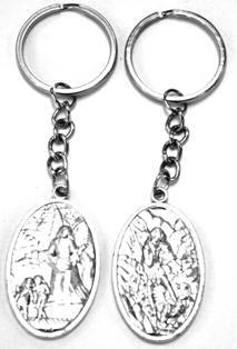 Religious Key Chains, Mary Jesus Key Chain