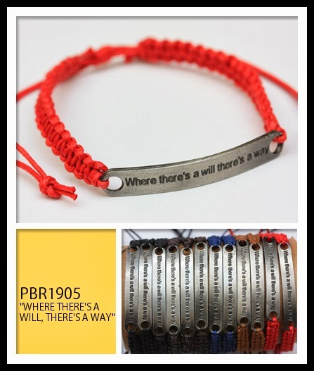 Where there's a will there's a way Bracelets