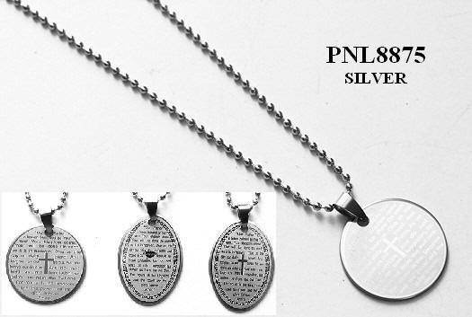 Religious Jewelry, Stainless Steel Necklaces