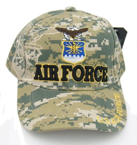 Light Camouflage U.S. Air Force Baseball Caps
