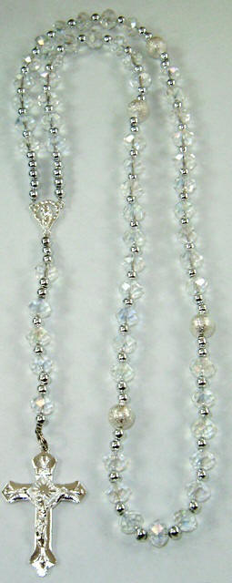 Genuine Crystal Rosaries