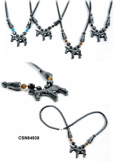 Donkey Hematite Necklaces