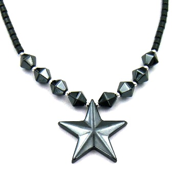 Star Hematite Necklaces