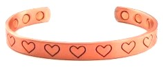 Magnetic Copper Bangles
