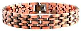 Copper Jewelry; Magnetic Copper Bracelets