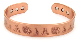 Indian Life Magnetic Copper Bangle