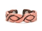 Magnetic XOXO Copper Rings