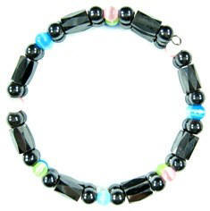 Multi Color Magnetic Memory Wire Bracelets