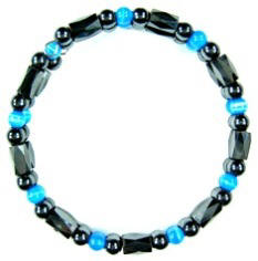 Turquoise Magnetic Memory Wire Bracelets