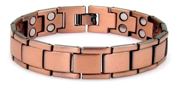 Pure Solid Copper Bracele