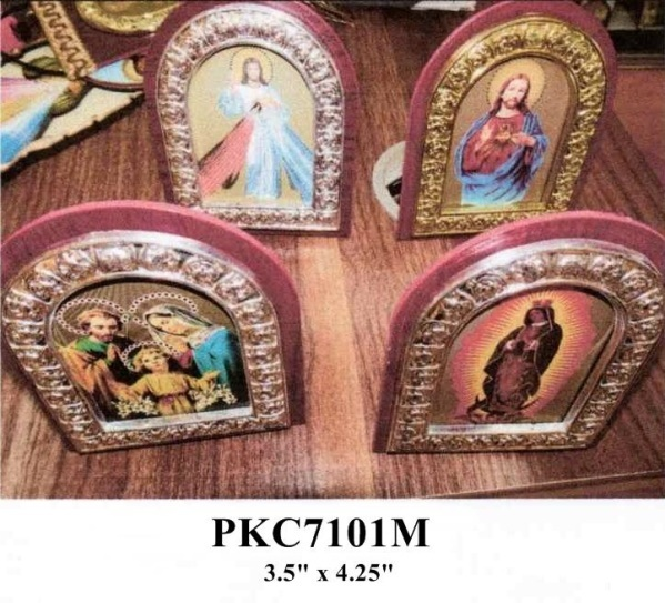 Wall and Countertop Framed Christian Religious Images