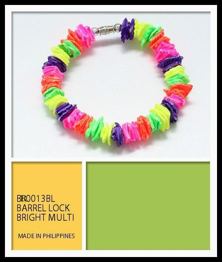 Multi Color Shell Bracelets