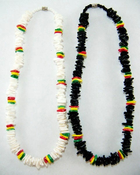 Rasta Shell Necklaces