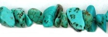Turquoise Chip Stone Necklaces