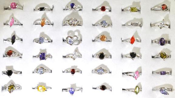 Wholesale Fashion Jewelry, Cubic Zirconia Rings