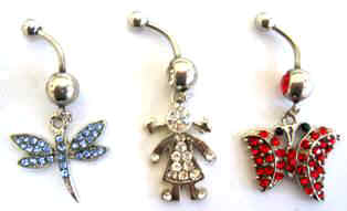 Body Jewelry, Wholesale Belly Buttons